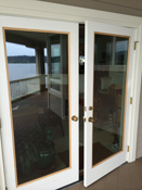 Install custom Low E Glass Panel to let in more light and open view