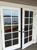 French Door with Divided Lites