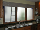Privacy glass after installation