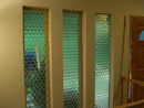 Specialty privacy glass before replacement